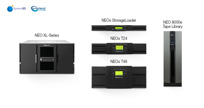NEO XL-Series, NEOs StorageLoader, NEOs T24, NEOs T48, NEO 8000e Tape Library